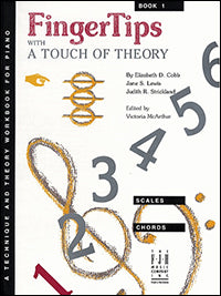 FingerTips With a Touch of Theory, Book 1
