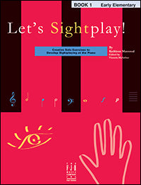 Let's Sightplay! Book 1