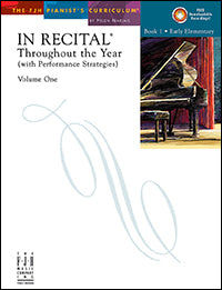 In Recital Throughout the Year, Volume One, Book 1