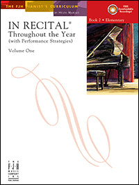In Recital Throughout the Year, Volume One, Book 2