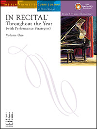 In Recital Throughout the Year, Volume One, Book 3