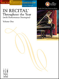 In Recital Throughout the Year, Volume One, Book 6