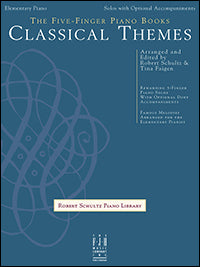 The Five-Finger Piano Books: Classical Themes