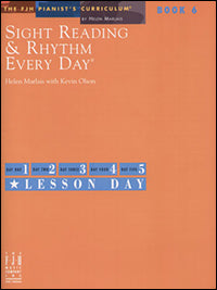Sight Reading and Rhythm Every Day, Book 6
