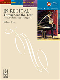 In Recital Throughout the Year, Volume Two, Book 1