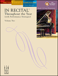 In Recital Throughout the Year, Volume Two, Book 3