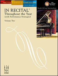 In Recital Throughout the Year, Volume Two, Book 6