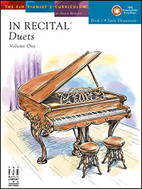 In Recital Duets, Volume One, Book 1