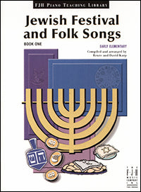 Jewish Festival and Folk Songs, Book 1