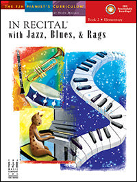 In Recital with Jazz, Blues, and Rags, Book 2