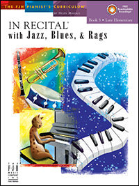 In Recital with Jazz, Blues, and Rags, Book 3