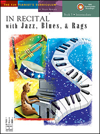 In Recital with Jazz, Blues, and Rags, Book 5