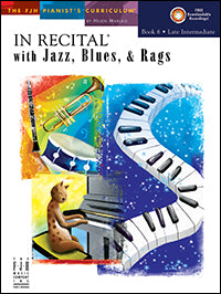 In Recital with Jazz, Blues, and Rags, Book 6