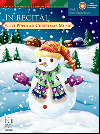 In Recital with Popular Christmas Music, Book 1