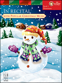 In Recital with Popular Christmas Music, Book 2