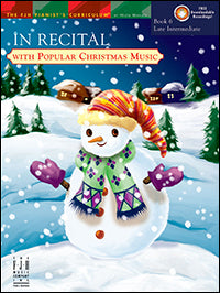 In Recital with Popular Christmas Music, Book 6
