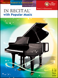 In Recital with Popular Music, Book 2