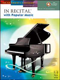 In Recital with Popular Music, Book 5