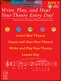 Write, Play, and Hear Your Theory Every Day, Book 2