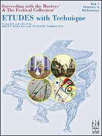 Etudes with Technique, Book 1