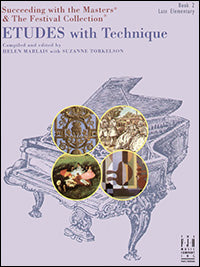 Etudes with Technique, Book 2