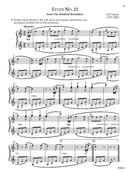 Etudes with Technique, Book 4