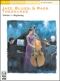Jazz, Blues, and Rags Treasures Volume 1