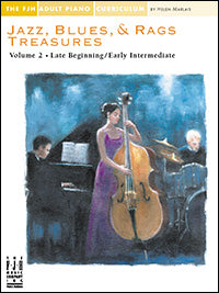 Jazz, Blues, and Rags Treasures Volume 2
