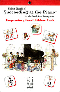 Succeeding at the Piano Sticker Book - Preparatory