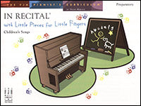 In Recital with Little Pieces for Little Fingers, Children's Songs