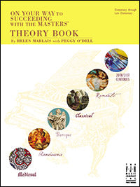 On Your Way To Succeeding With The Masters, Theory Book