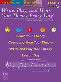 Write, Play, and Hear Your Theory Every Day, Book 5