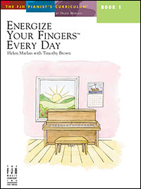 Energize Your Fingers Every Day, Book 1