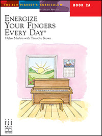 Energize Your Fingers Every Day, Book 2A