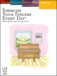 Energize Your Fingers Every Day, Book 3A