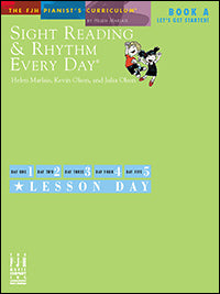 Sight Reading and Rhythm Every Day, Let's Get Started!, Book A