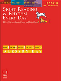 Sight Reading and Rhythm Every Day, Let's Get Started!, Book B