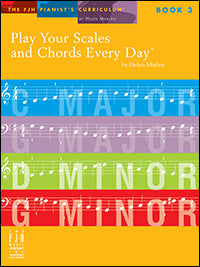 Play Your Scales and Chords Every Day, Book 3