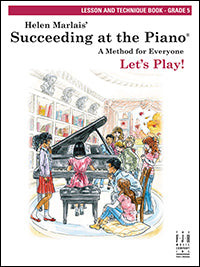 Succeeding at the Piano Lesson and Technique Book - Grade 5