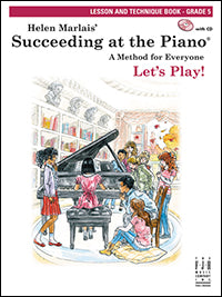 Succeeding at the Piano Lesson and Technique Book- Grade 5