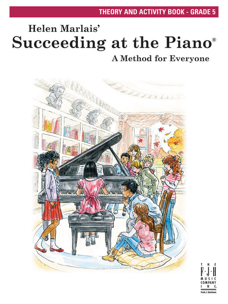 Succeeding at the Piano Theory and Activity Book - Grade 5