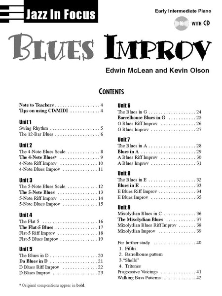 Blues Improv