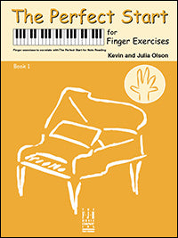 The Perfect Start for Finger Exercises, Book 1