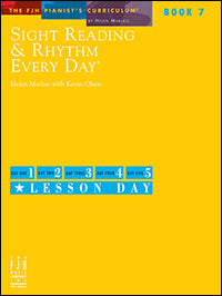 Sight Reading and Rhythm Every Day, Book 7