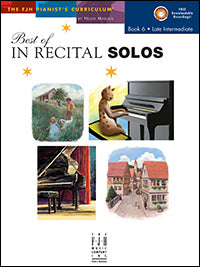 Best of In Recital Solos, Book 6
