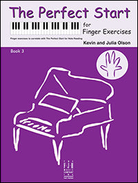 The Perfect Start for Finger Exercises, Book 3