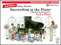 Succeeding at the Piano Lesson and Technique Book - Preparatory (2nd Edition) (with CD)