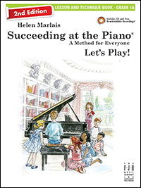 Succeeding at the Piano Lesson and Technique Book - Grade 1A (2nd Edition) (with CD)
