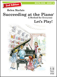 Succeeding at the Piano Recital Book - Grade 1A (2nd Edition) (with CD)