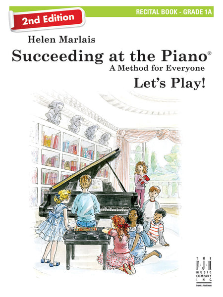 Succeeding at the Piano Recital Book - Grade 1B (2nd Edition) (with CD)